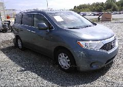 2012 Nissan QUEST - JN8AE2KP2C9047532 Left View