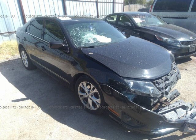 Inventory #400733010 2012 FORD FUSION