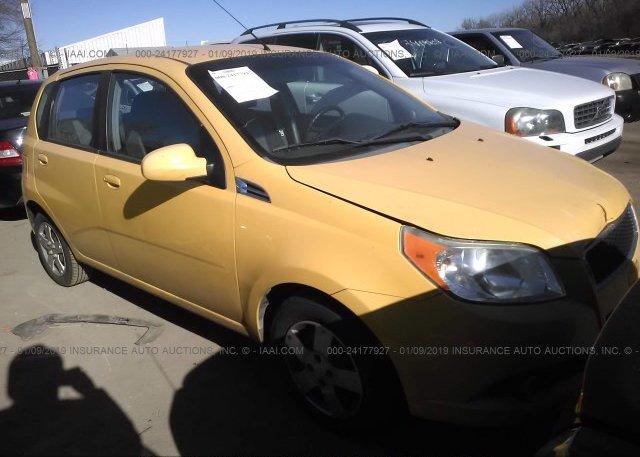 Kl1td6de6bb125819 Clear Yellow Chevrolet Aveo At Kansas City Ks On
