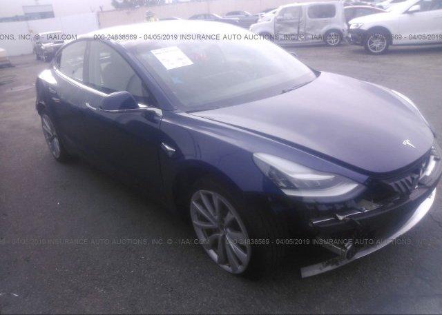 Inventory #929492920 2018 Tesla MODEL 3