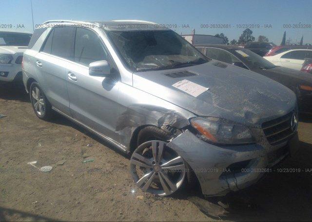 Inventory #440139776 2014 Mercedes-benz ML