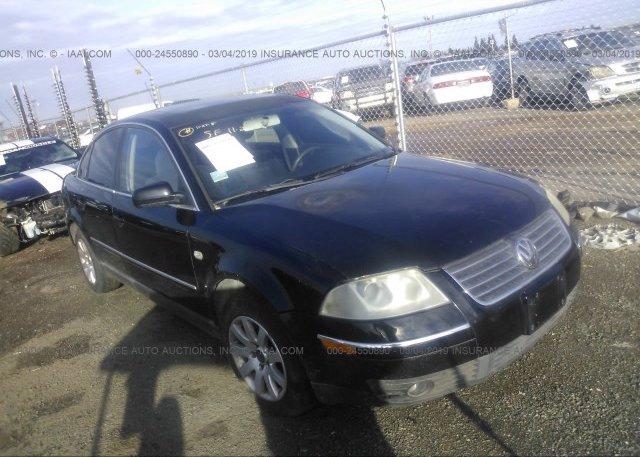 Inventory #444551775 2003 Volkswagen PASSAT