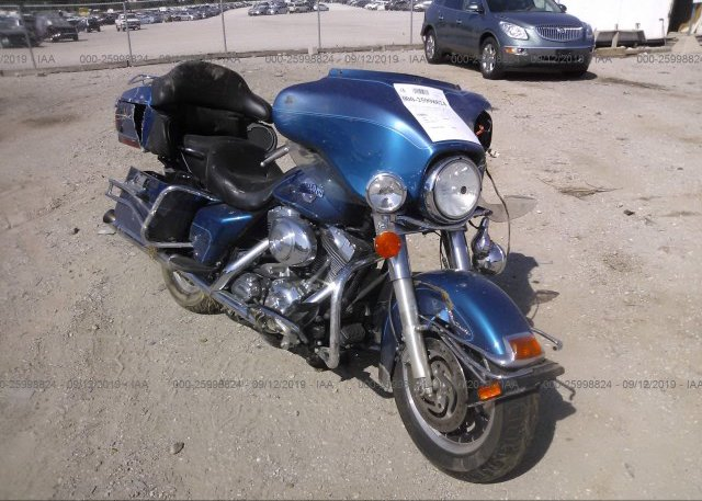 Harley Davidson Springfield Mo >> 1hd1fcw125y657216 Salvage Blue Harley Davidson Flhtcui At