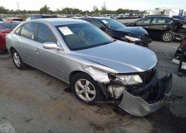 Inventory #764023505 2007 Hyundai AZERA