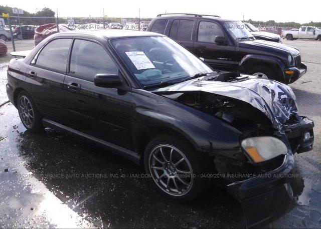 Inventory #669331034 2004 Subaru IMPREZA