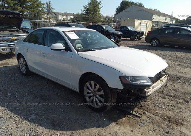 Inventory #912176941 2012 AUDI A4