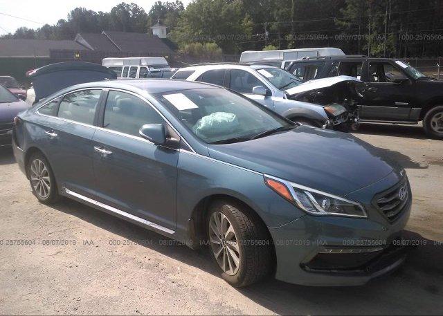Inventory #992050027 2016 Hyundai SONATA
