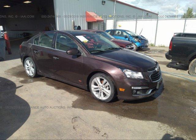 Inventory #448827258 2015 Chevrolet CRUZE
