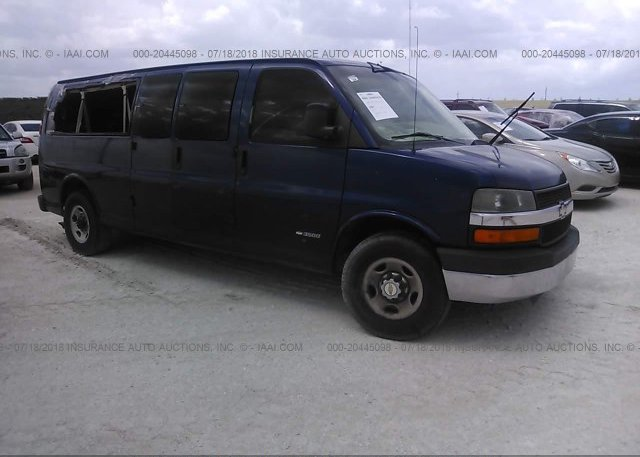 Inventory #786202301 2003 CHEVROLET EXPRESS G3500