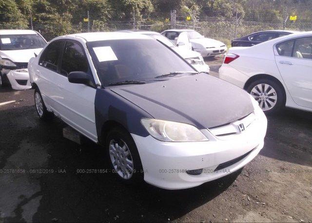 Inventory #720376819 2005 Honda CIVIC