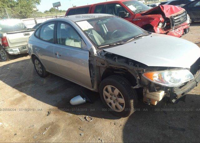 Inventory #602453837 2009 Hyundai ELANTRA