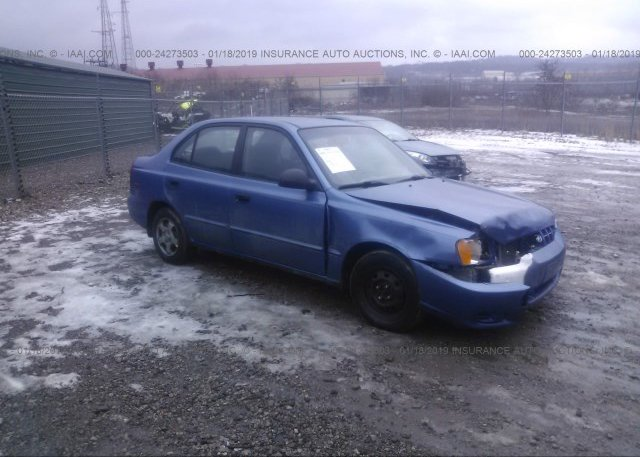 Inventory #240371236 2002 HYUNDAI ACCENT