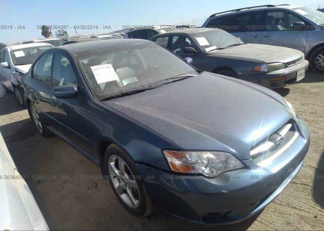 Inventory #119712331 2006 Subaru LEGACY