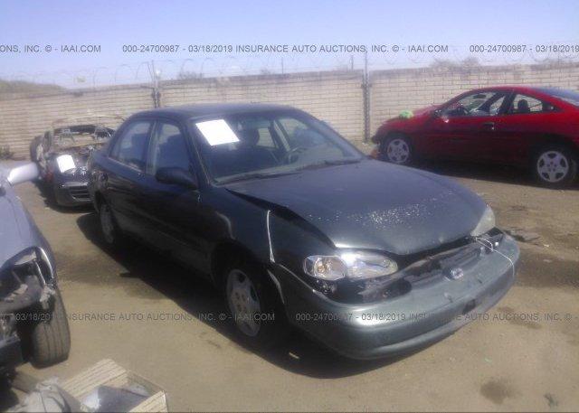Inventory #946100054 2000 Chevrolet GEO PRIZM