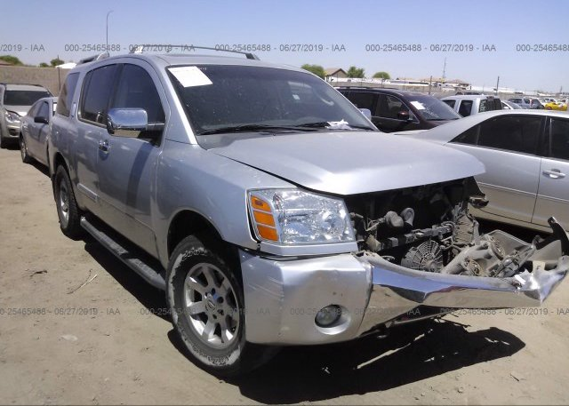 Inventory #800306064 2005 Nissan ARMADA