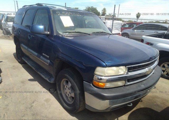 Inventory #563601755 2002 Chevrolet TAHOE