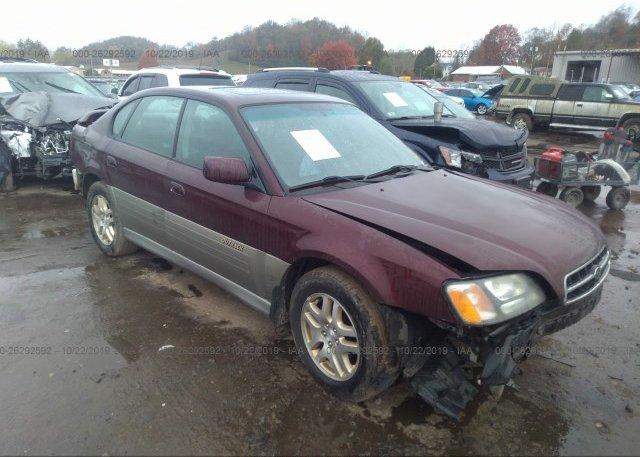 Inventory #262050421 2000 Subaru LEGACY
