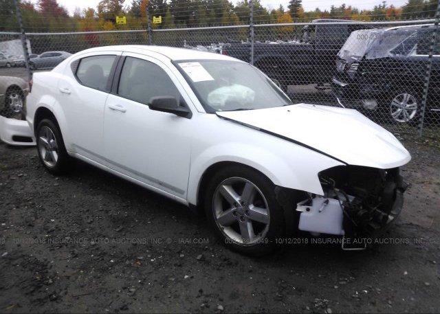 Inventory #763146497 2013 Dodge AVENGER
