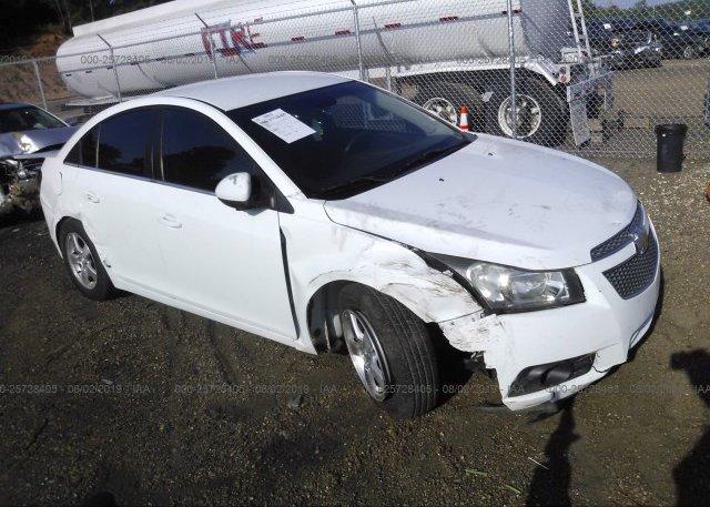 Inventory #900453701 2012 Chevrolet CRUZE
