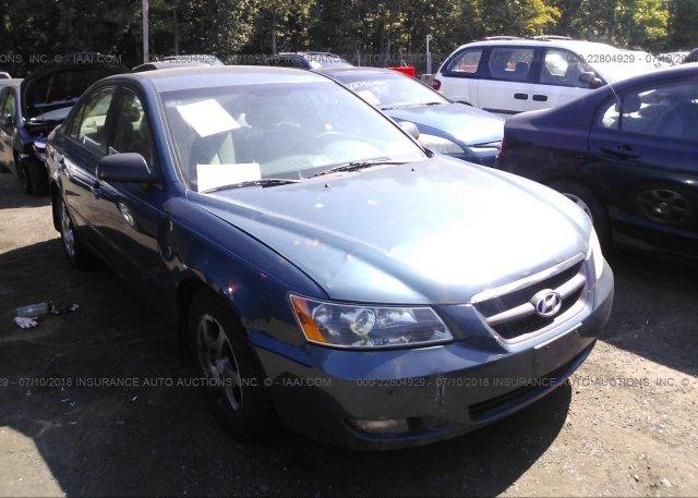 Inventory #845261237 2006 Hyundai SONATA