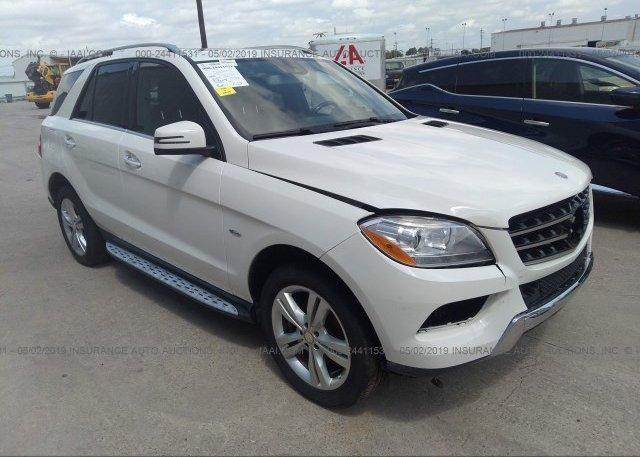 Inventory #993291206 2012 Mercedes-benz ML