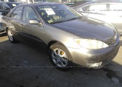 2005 Toyota CAMRY - 4T1BE30K05U532633 Left View