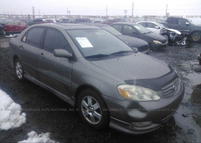 Inventory #567866620 2003 Toyota COROLLA
