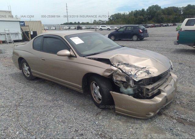 Inventory #417663282 2005 Chevrolet MONTE CARLO