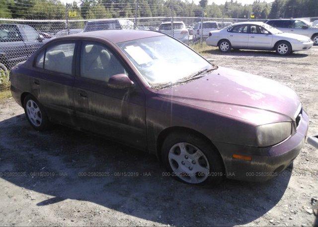 Inventory #719776405 2001 Hyundai ELANTRA
