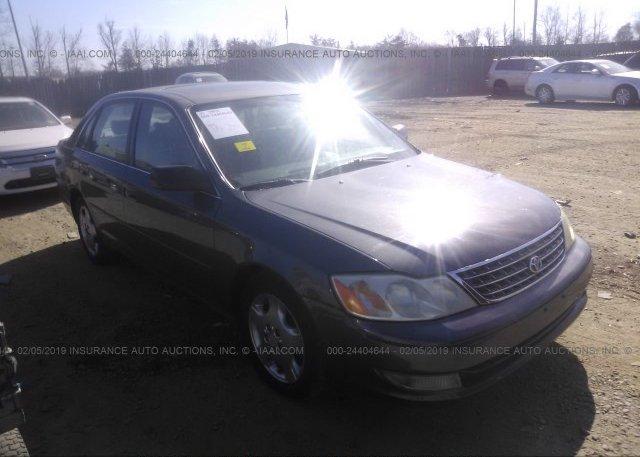 Inventory #930357857 2003 Toyota AVALON