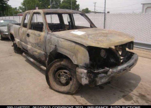 Inventory #904144314 2003 Chevrolet SILVERADO