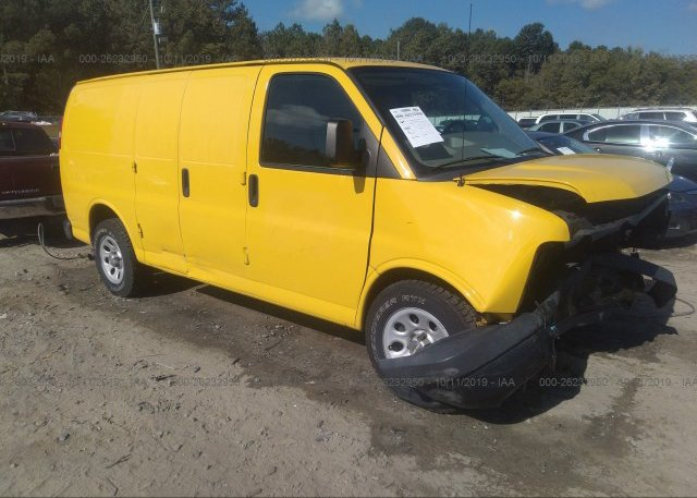 Inventory #816009969 2011 Chevrolet EXPRESS G1500