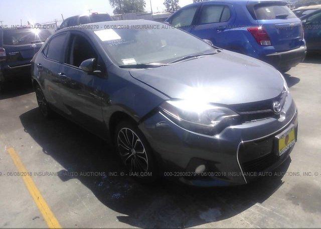 Inventory #177576400 2016 Toyota COROLLA
