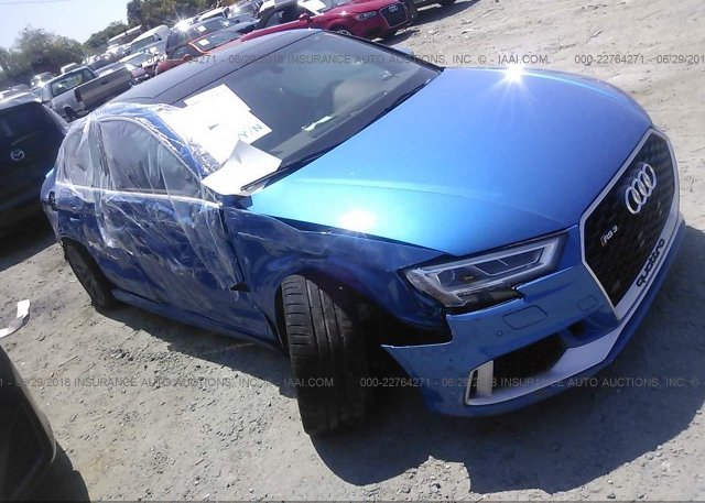 Bidding Ended On Wuabwgff9j1901765 Salvage Audi Rs3 At New Castle