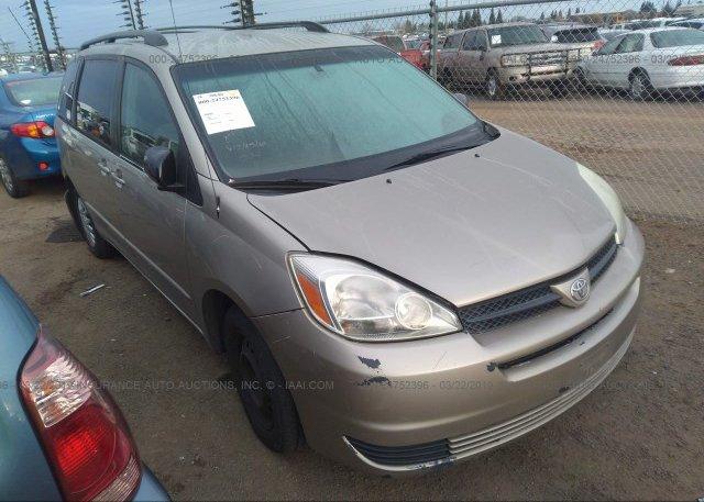 Inventory #659814523 2005 Toyota SIENNA
