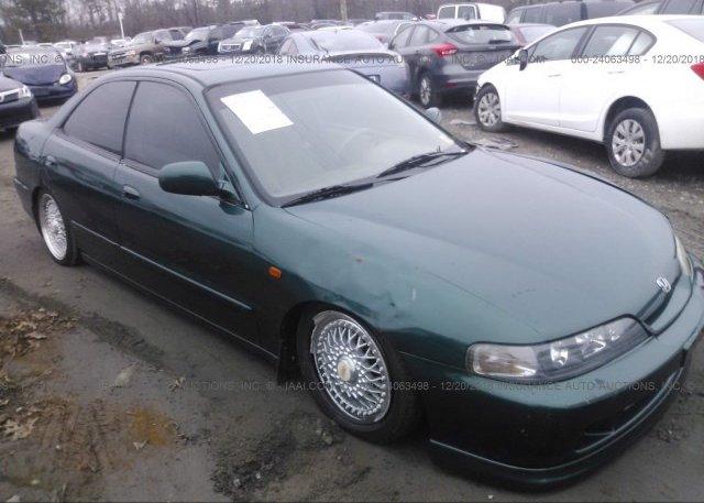 JH4DB7553XS004310 Clear Green Acura Integra At ASHLAND VA On