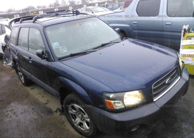 Inventory #940273291 2005 Subaru FORESTER