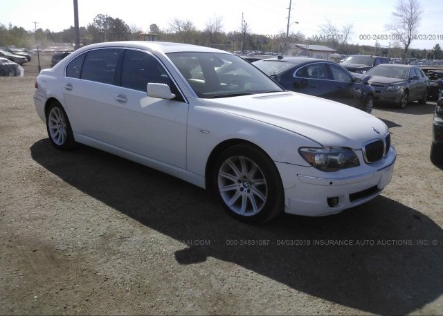Inventory #876010728 2006 BMW 750