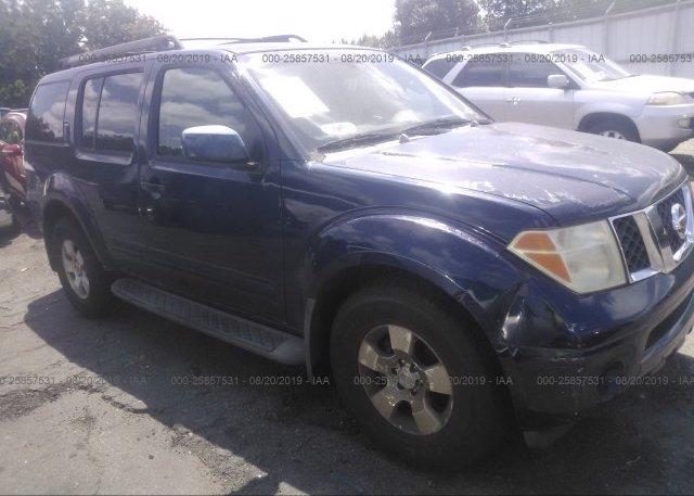 Inventory #537266563 2006 Nissan PATHFINDER