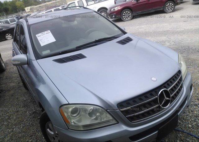 Inventory #754704070 2006 Mercedes-benz ML