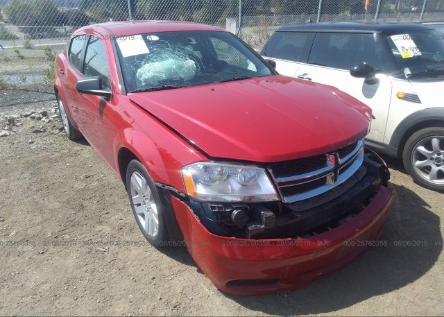 Inventory #931703454 2012 Dodge AVENGER