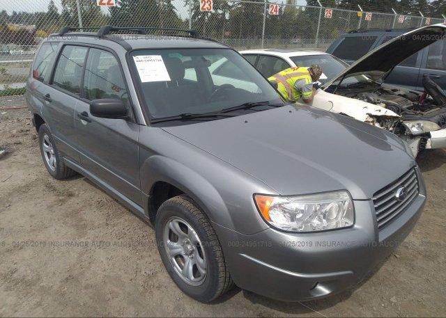 Inventory #869738361 2007 Subaru FORESTER