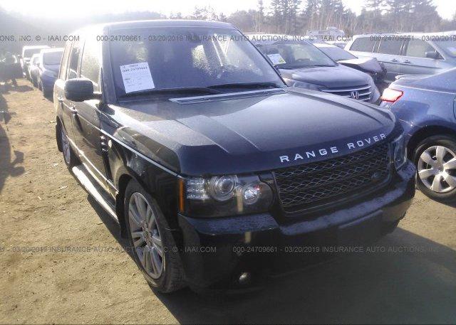 Inventory #445885633 2012 Land Rover RANGE ROVER