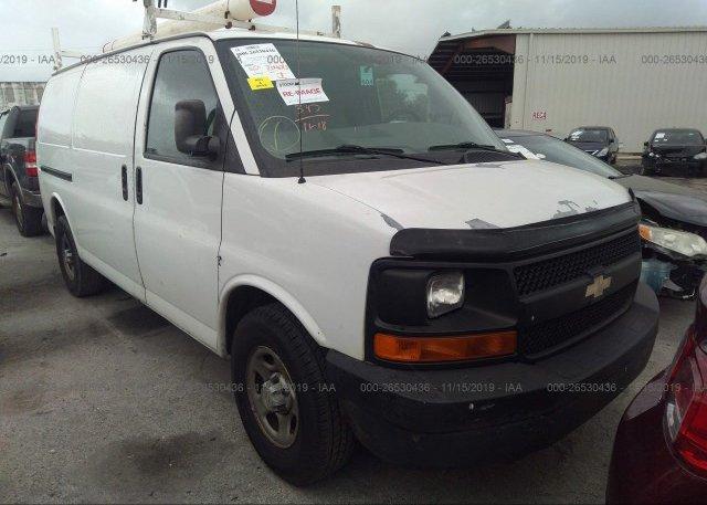 Inventory #422927064 2007 CHEVROLET EXPRESS G1500