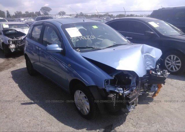 Inventory #678518415 2005 Chevrolet AVEO