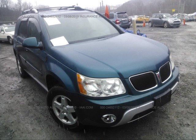 Inventory #675076633 2006 Pontiac TORRENT