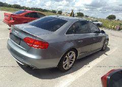 2011 AUDI S4 - WAUBGAFL7BA107620 rear view