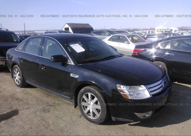 Inventory #775725100 2008 FORD TAURUS
