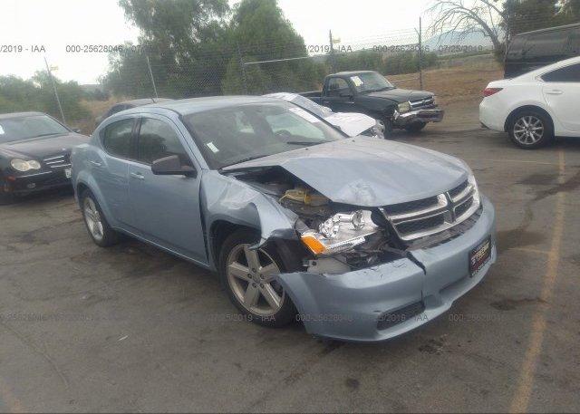 Inventory #444873946 2013 Dodge AVENGER