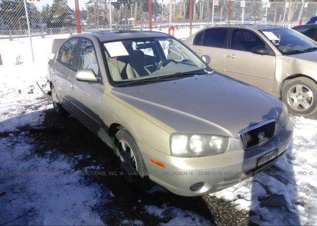 Inventory #966916587 2002 Hyundai ELANTRA